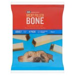 Morrisons Meat Filled Bone Small Dog Snacks