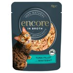 Encore Tuna With Whitebait Cat Pouch