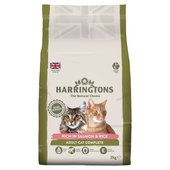 Harringtons Complete Salmon & Rice Dry Cat Food