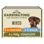 Harringtons Super Premium Wet Dog Food Multi Pack Chicken And Duck