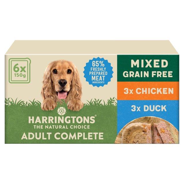 Morrisons Harringtons Super Premium Wet Dog Food Multi Pack