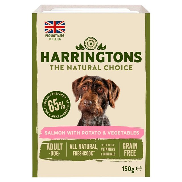 Morrisons Harringtons Super Premium Wet Dog Food Salmon