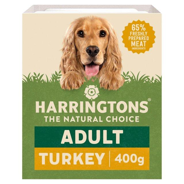 Harringtons Turkey Super Premium Wet Dog Food Morrisons