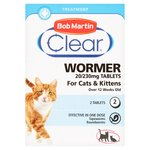 Bob Martin 2 in 1  Deworming Tablet For Cats