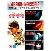 Mission Impossible 1-5 DVD (12) R