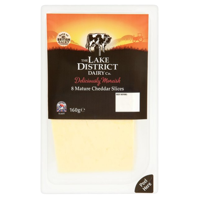 Lake District 8 Mature Cheddar Slices