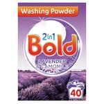 Bold 2in1 Washing Powder Lavender & Camomile 40 Washes