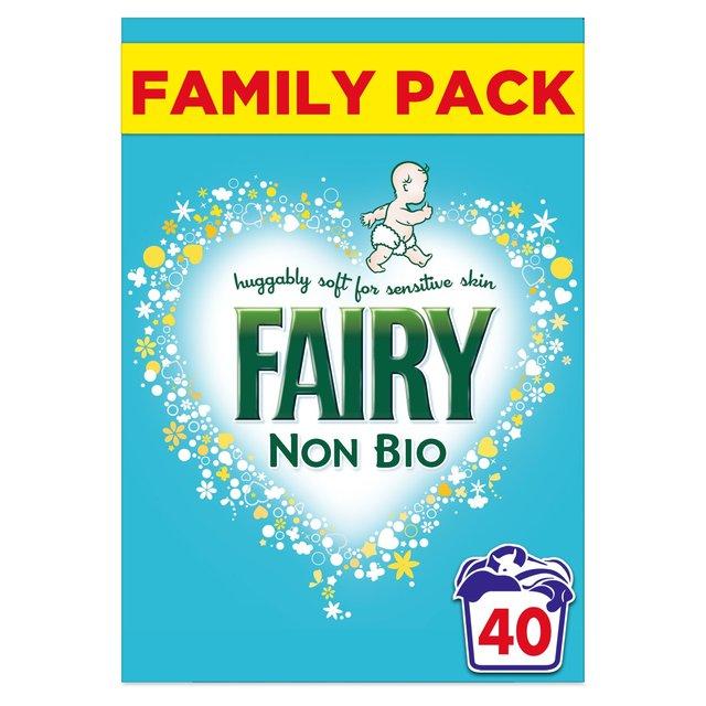 Fairy Non Bio Washing Powder for Sensitive Skin 40 Washes