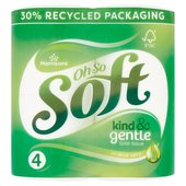 Morrisons Aloe Vera Toilet Tissue 4 Roll