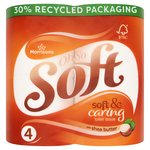 Morrisons Shea Butter Toilet Tissue 4 Roll