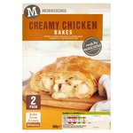 Morrisons 2 Creamy Chicken Slices