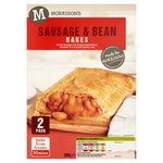 Morrisons 2 Sausage & Bean Slices