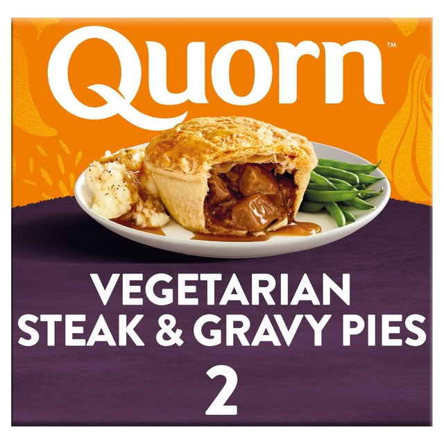 Morrisons: Quorn Steak Style & Gravy Pie 400g(Product ...