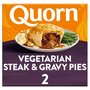 Quorn Vegetarian Steak & Gravy Pies 2 Pack