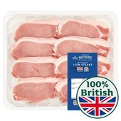 Morrisons Pork Loin Steaks