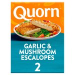 Quorn Garlic & Mushroom Escalopes 2 Pack