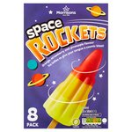 Morrisons Rocket Lollies 8 Pack