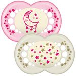 MAM Night Soother Pink 6mths+