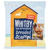 Whitby Breaded Formed Scampi
