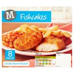 Morrisons 8 Cod Fish Cakes