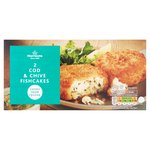 Morrisons 2 Cod & Chive Fish Cakes