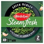 Birds Eye 2 Steamfresh Green Medley With Garlic & Herbs