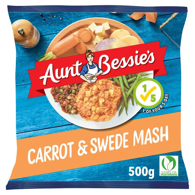 Aunt Bessie's Carrot & Swede Mash