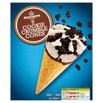 Morrisons Cookie Ice Cream Cones