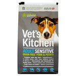 Vet's Kitchen Complete Sensitive Grain Free Pork & Potato Dry Dog Food