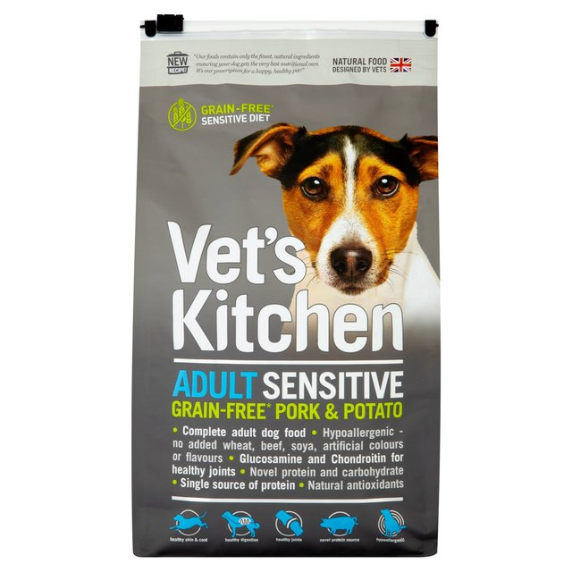 Beautiful Vetu0027s Kitchen Complete Sensitive Grain Free Pork U0026 Potato Dry ... Idea