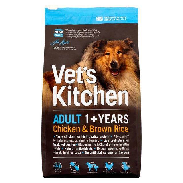 Vetu0027s Kitchen Adult Chicken U0026 Brown Rice Complete Dry ... Pictures