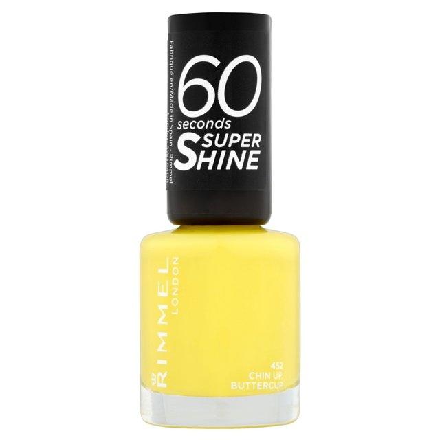 Morrisons: Rimmel 60 Seconds Nail Polish Chin Up Buttercup 8ml ...
