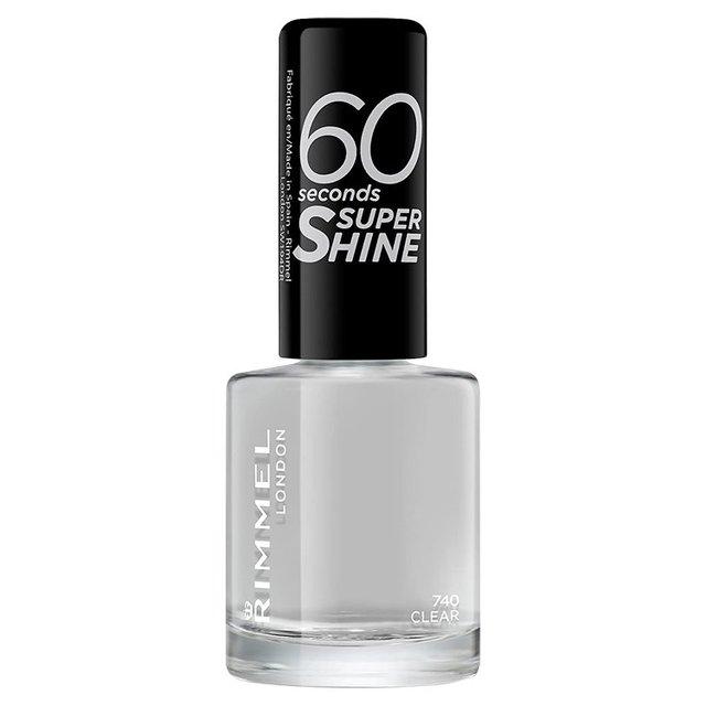 Rimmel London 60 Seconds Super Shine Nail Polish Clear
