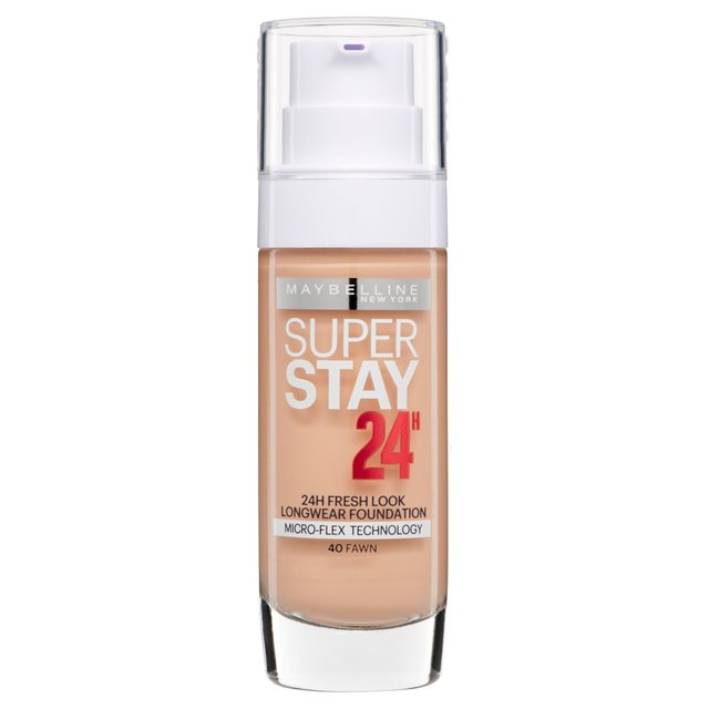 Morrisons: Maybelline Super Stay Foundation 24 Hour 040 Fawn ...