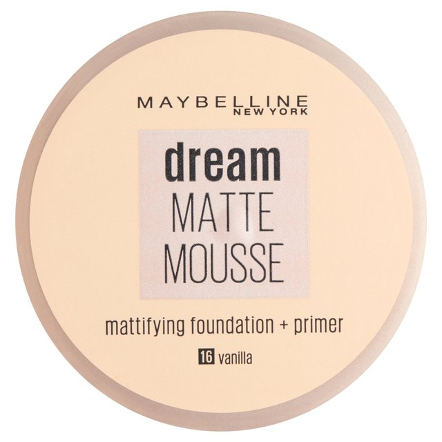 Morrisons Maybelline Dream Matte Mousse 016 Vanilla Product