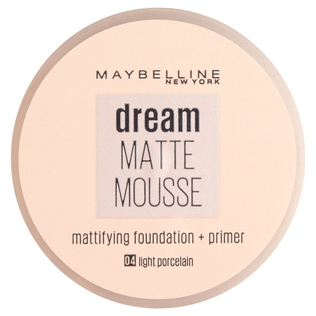 Maybelline Dream Matte Mousse 04 Porcelain