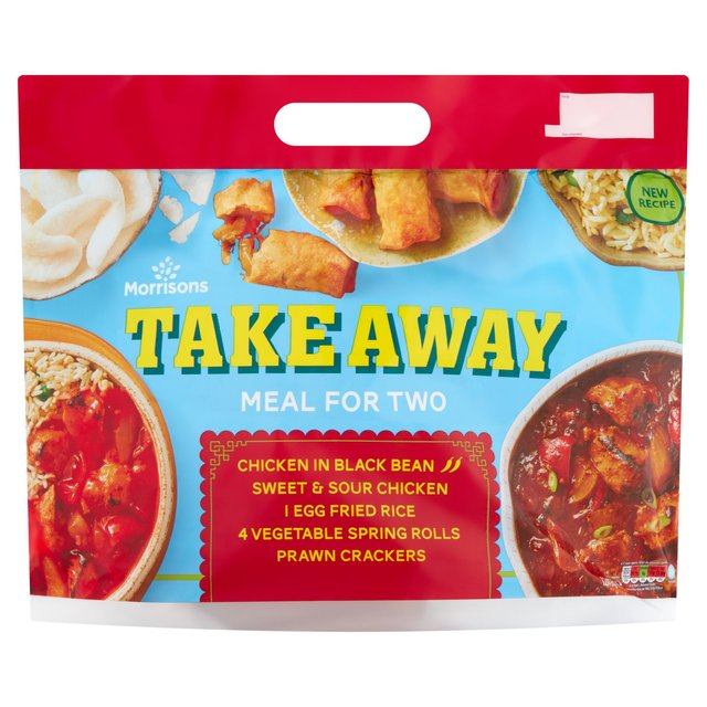 Morrisons Takeaway Meal For 2 Chicken & Blackbean & Sweet and Sour 1245G