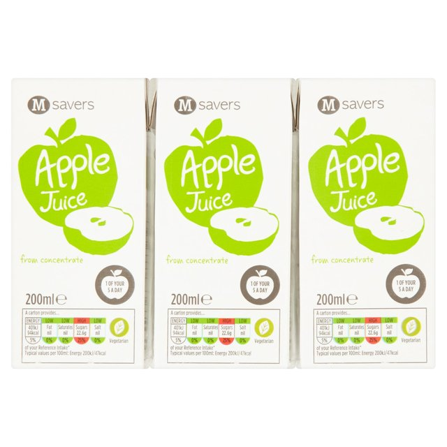 M savers Mini Juice Apple