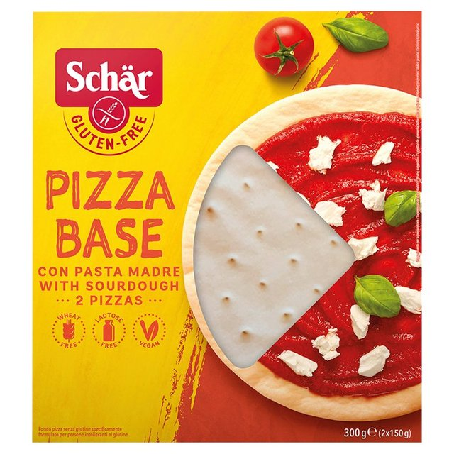 Morrisons: Schar Gluten Free Pizza Bases 300g(Product Information)