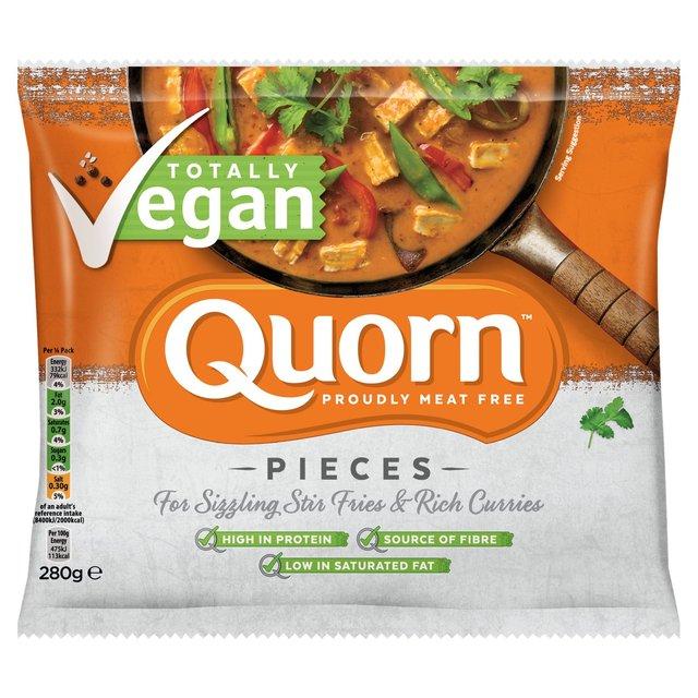 Morrisons: Quorn Vegan Pieces 280g(Product Information