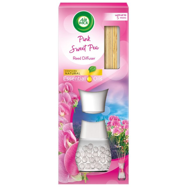 Air Wick Pink Sweet Pea Air Freshener Refill