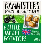 Bannisters Farm 6 Little Jacket Potatoes
