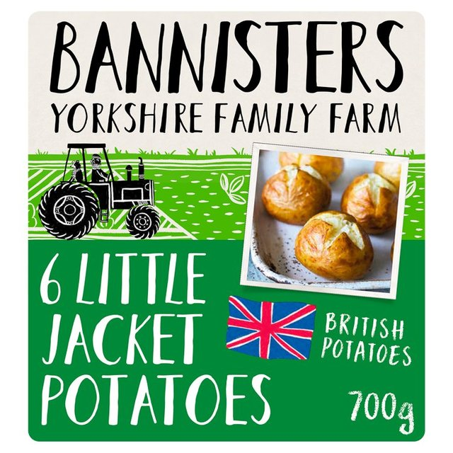 Bannisters Farm 6 Littl'Uns Small Baked Potatoes