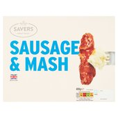 M savers Sausage & Mash