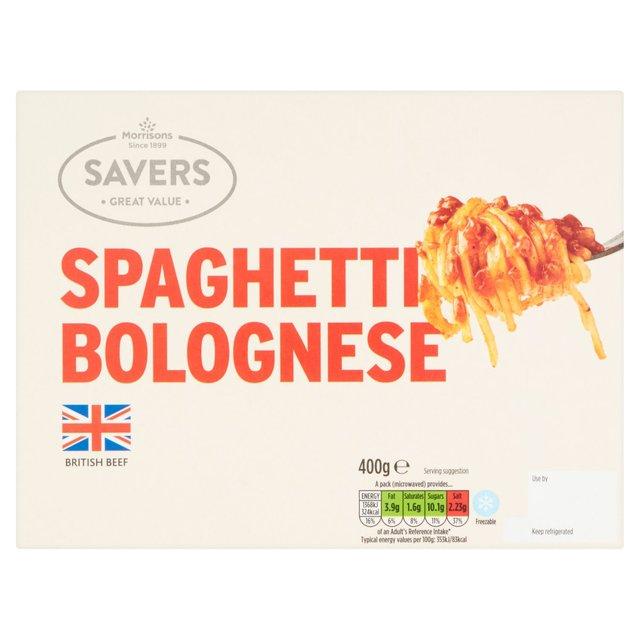 Morrisons Savers Spaghetti Bolognese