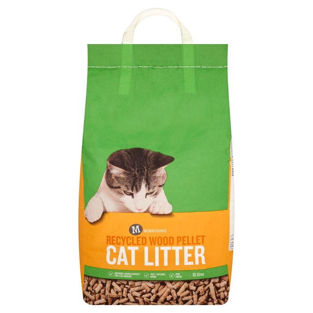 Morrisons Wood Based Cat Litter