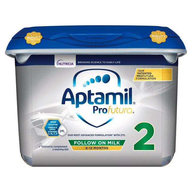 Kết quả hình ảnh cho Aptamil Profutura 2