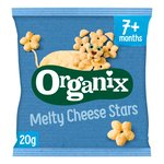 Organix Melty Organic Cheese Stars Baby Finger Food Snacks