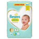 Pampers New Baby Nappies Size 3 Jumbo Pack