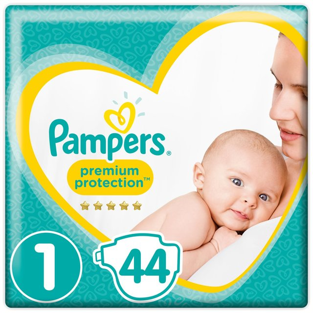 morrisons pers new baby nappies size 1 essential pack 44 per pack product information